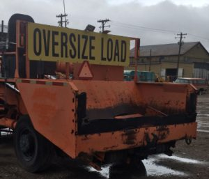 image of used chip spreader rear bed