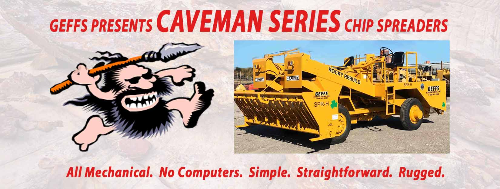 image of caveman chip spreader slider
